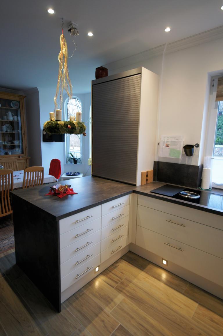 Dunstabzug BORA Küche individuell Bordesholm