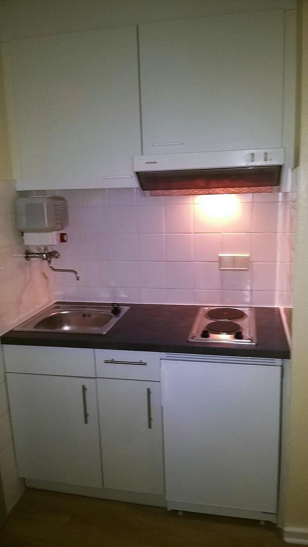 eine kleine Studentenküche